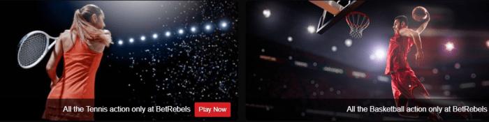 Πρόσθετες αποδόσεις στοιχημάτων στο Τένις και το Μπάσκετ