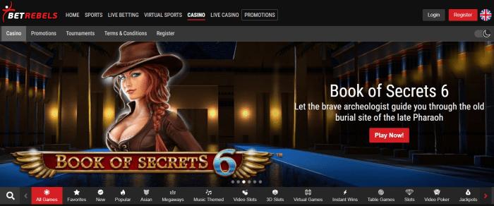 Καζίνο Betrebels
